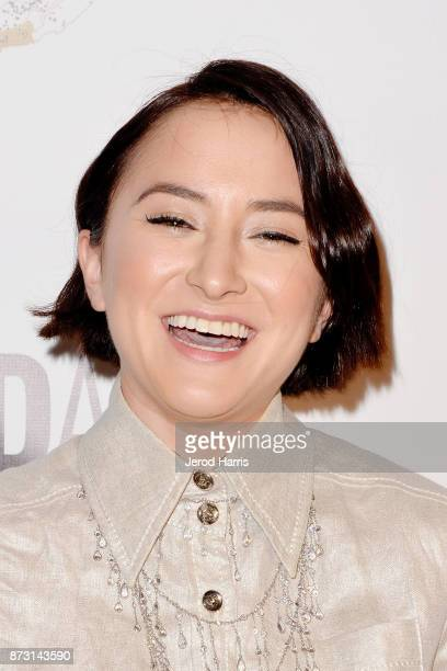 Zelda Williams arrives at 'Evening With WildAid' at the Beverly Wilshire Four Seasons Hotel on November 11 2017 in Beverly Hills California