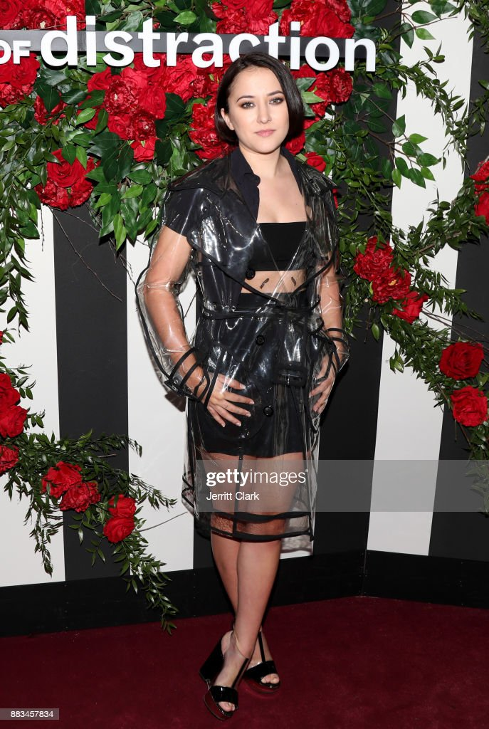 Zelda Williams at the LAND of distraction Launch Party at Chateau Marmont on November 30, 2017 in Los Angeles, California.