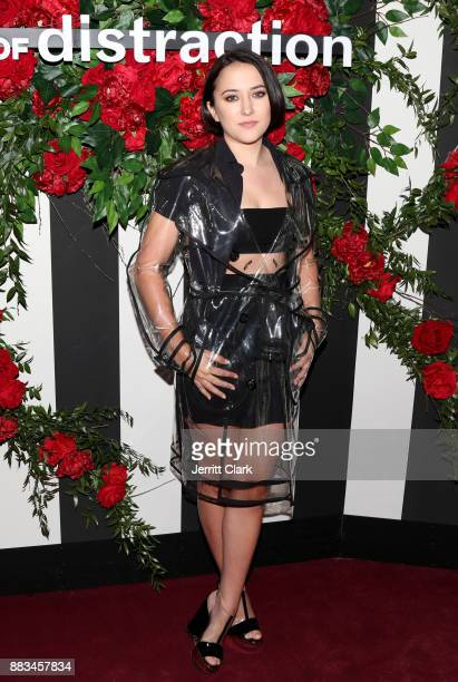 Zelda Williams at the LAND of distraction Launch Party at Chateau Marmont on November 30 2017 in Los Angeles California