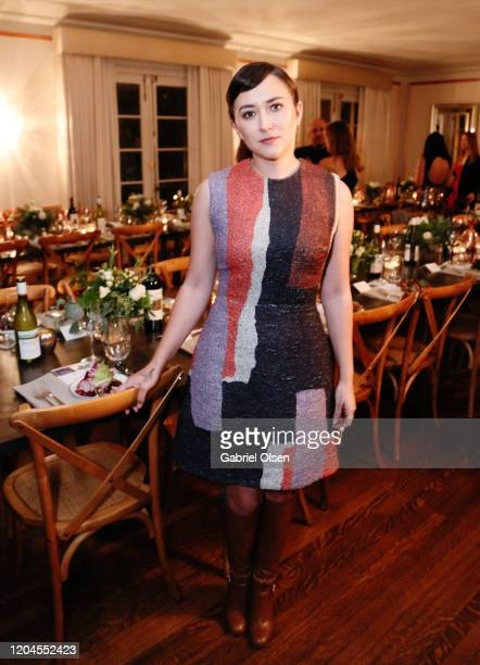 Zelda Williams attends Red Carpet Green Dress at the Private Residence of Jonas Tahlin CEO of Absolut Elyx on February 06 2020 in Los Angeles...