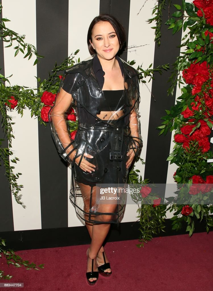 Zelda Williams attends the LAND of distraction Launch Event at Chateau Marmont on November 30, 2017 in Los Angeles, California.