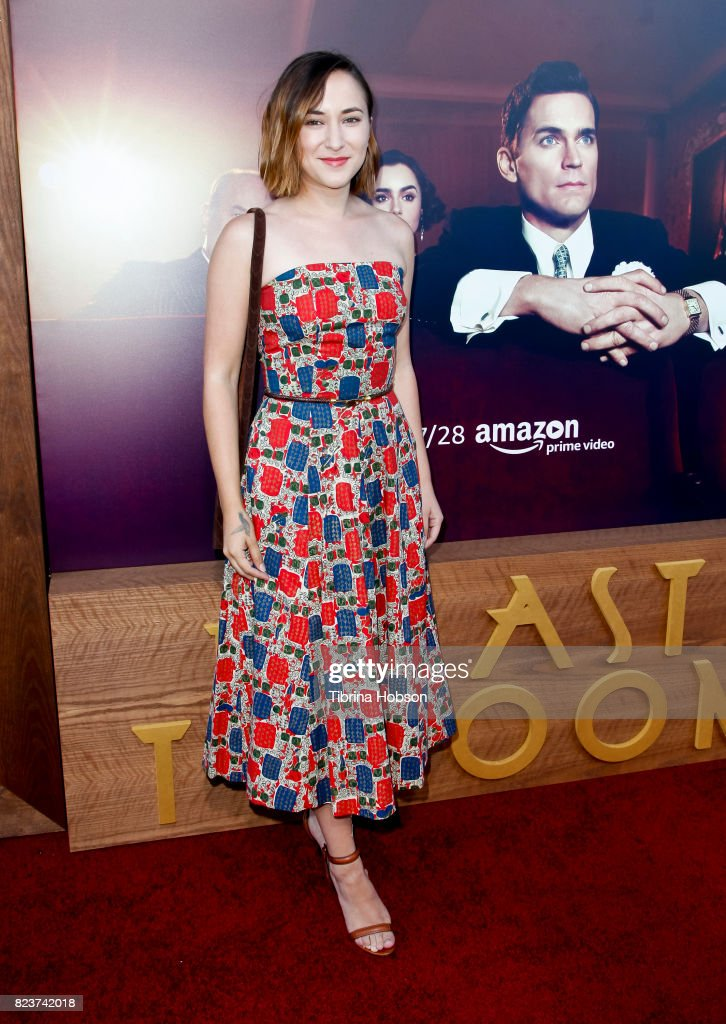 Zelda Williams attends the premiere of Amazon Studios 'The Last Tycoon' at the Harmony Gold Preview House and Theater on July 27, 2017 in Hollywood, California.