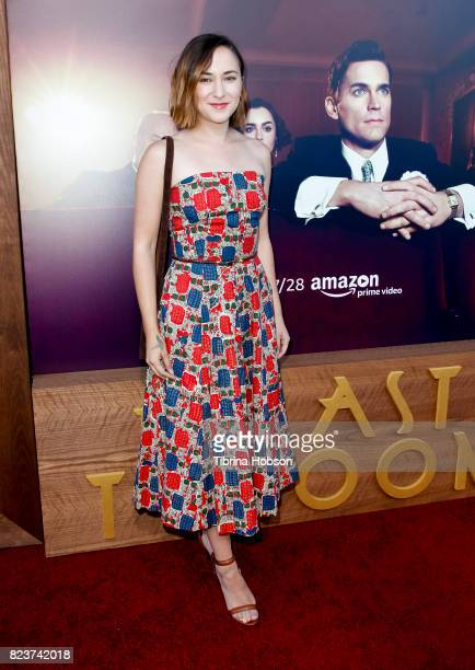 Zelda Williams attends the premiere of Amazon Studios 'The Last Tycoon' at the Harmony Gold Preview House and Theater on July 27, 2017 in Hollywood,...