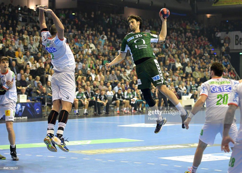 Fuechse Berlin v SC Magdeburg - DKB Handball Bundesliga