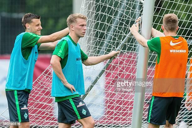 Zell am Ziller Oesterreich Trainingslager SV Werder Bremen Justin Eilers