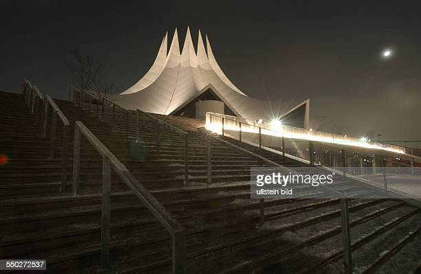 Zeltdachkonstruktion des Tempodroms in Berlin