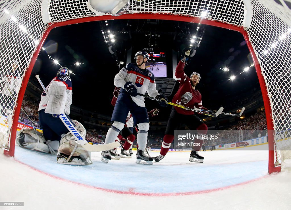 Latvia v Slovakia - 2017 IIHF Ice Hockey World Championship