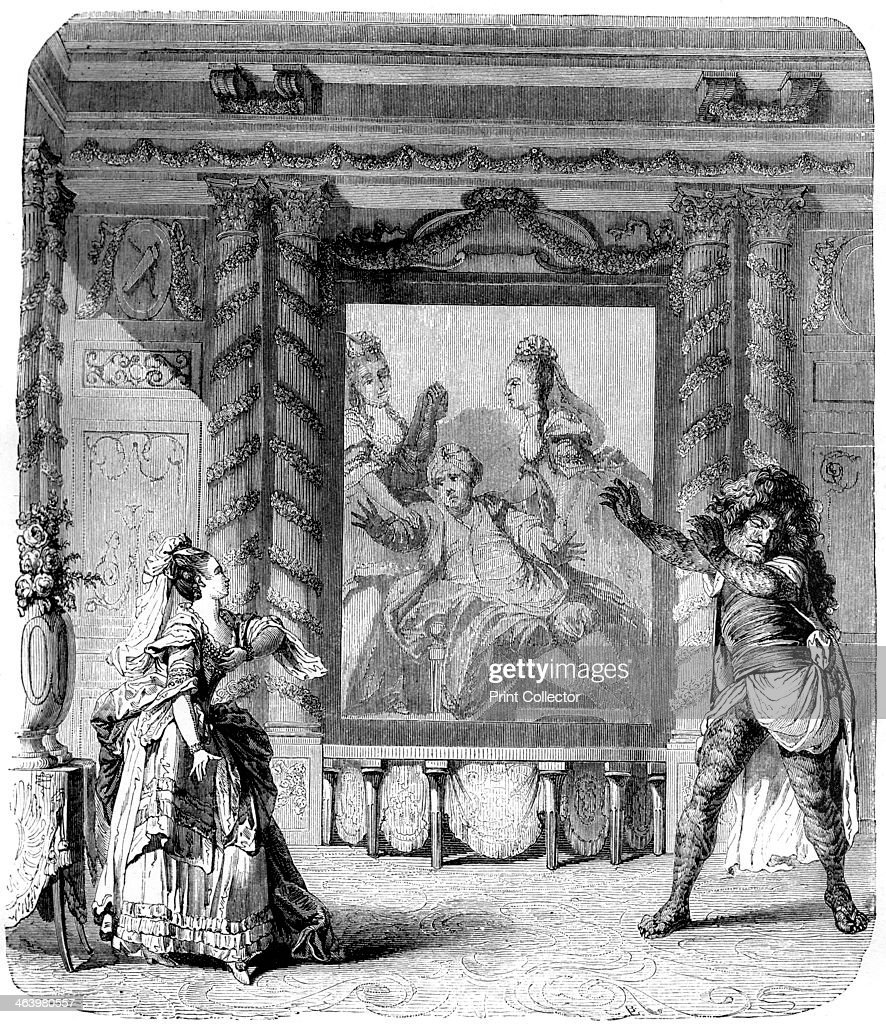 'Zemire and Azor', comic opera, 1771 (1882-1884). : News Photo