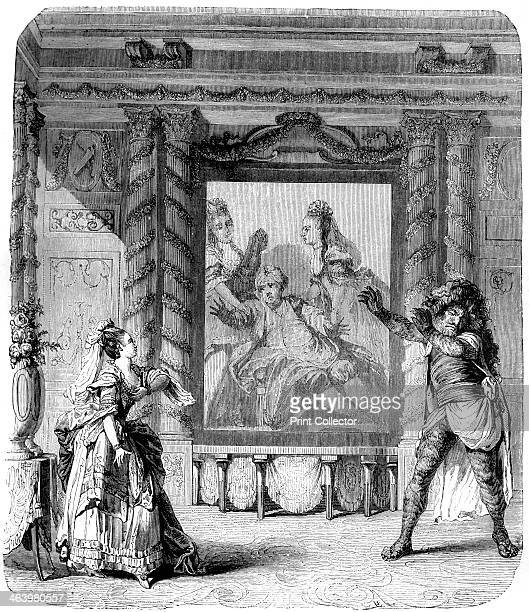 'Zemire and Azor' comic opera 1771 Written by Andre Gretry it was first performed at Fontainebleau on 9th November 1771 and at the ComedieItalienne...