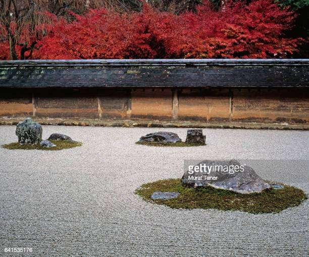Zen garden at Ryoanji Temple