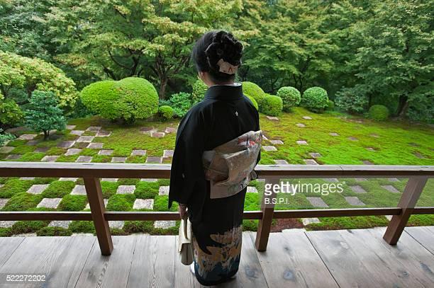 Zen Garden by Mirei Shigemori at Tofuku-ji Temple in Kyoto, Japan