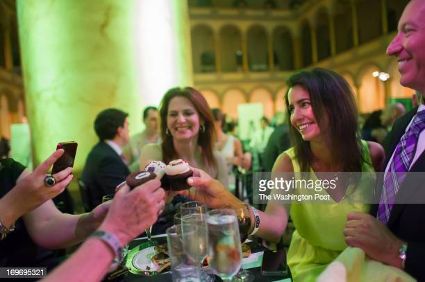 Zena Bolin and Kelly Collis at Fashion for Paws event at the National Building Museum in Wash DC