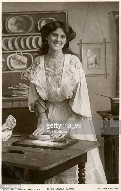 Zena Dare, British actress, c1900s. Zena Dare was a popular musical comedy actress of the Edwardian period. Her acting career spanned six decades,...