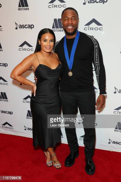 Zena Foster and Tank attend 2019 ASCAP Rhythm Soul Music Awards at the Beverly Wilshire Four Seasons Hotel on June 20 2019 in Beverly Hills California