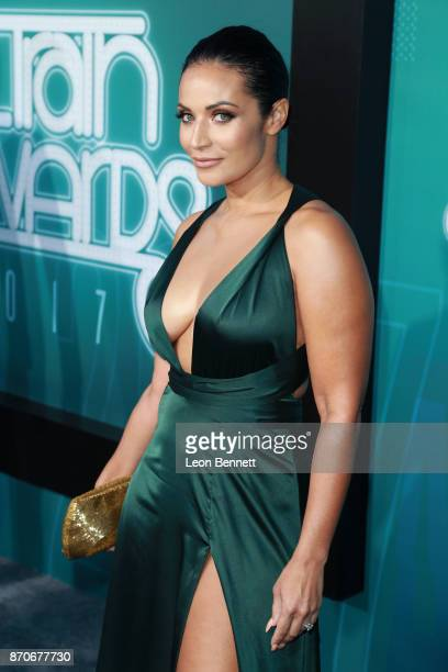 Zena Foster attends the 2017 Soul Train Awards presented by BET at the Orleans Arena on November 5 2017 in Las Vegas Nevada