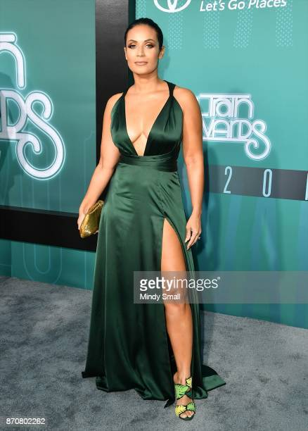 Zena Foster attends the 2017 Soul Train Music Awards at the Orleans Arena on November 5 2017 in Las Vegas Nevada