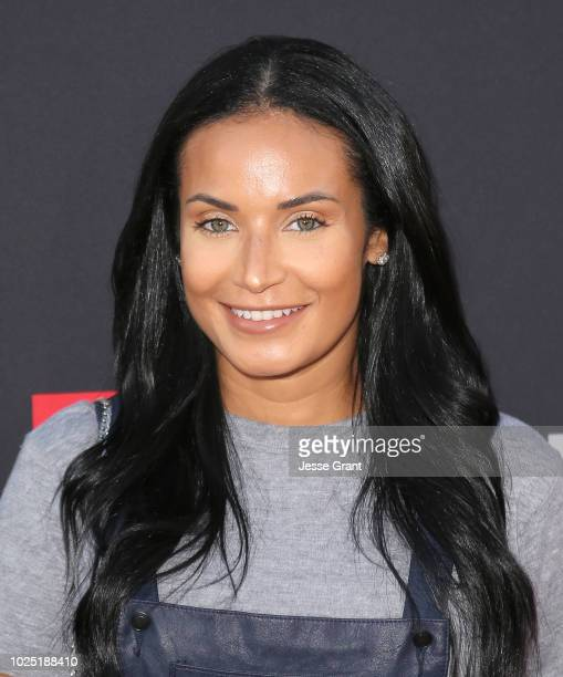 Zena Foster attends the premiere screening of The Bobby Brown Story presented by BET and Toyota at the Paramount Theatre on August 29 2018 in...