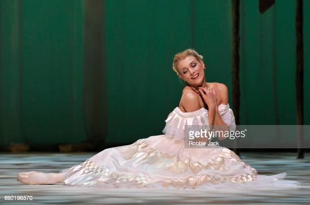 Zenaida Yanowsky as Marguerite in the Royal Ballet's production of Frederick Ashton's Marguerite and Armand at the Royal Opera House on June 1 2017...