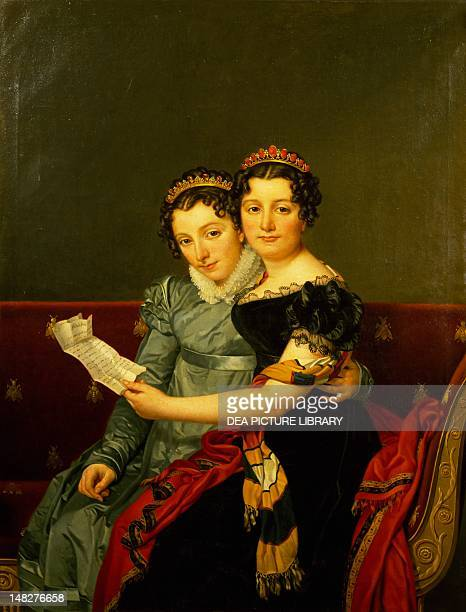 Zenaide and Carlotta the daughters of King Joseph by JacquesLouis David