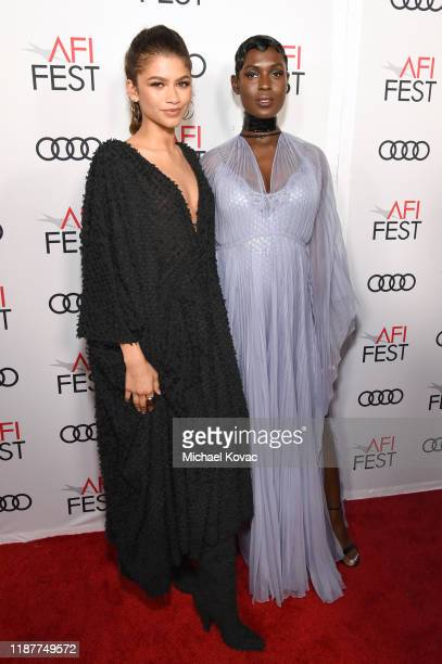Zendaya and Jodie TurnerSmith attend the Queen Slim Premiere at AFI FEST 2019 presented by Audi at the TCL Chinese Theatre on November 14 2019 in...