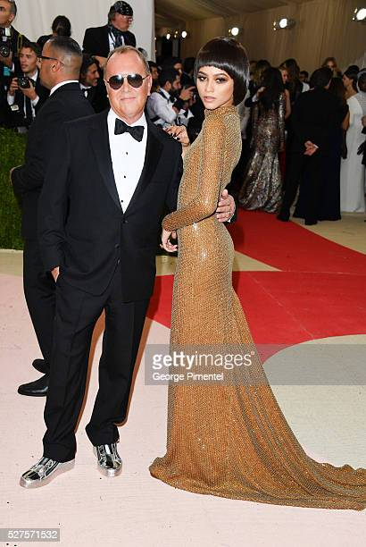 Zendaya and Michael Kors attend the 'Manus x Machina Fashion in an Age of Technology' Costume Institute Gala at the Metropolitan Museum of Art on May...