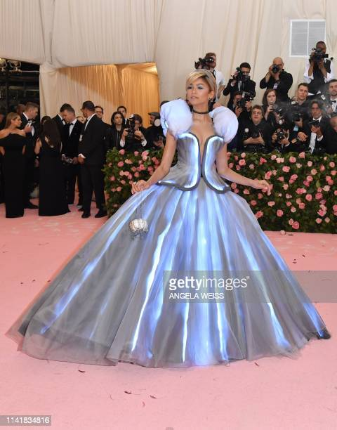 Zendaya arrives for the 2019 Met Gala at the Metropolitan Museum of Art on May 6 in New York The Gala raises money for the Metropolitan Museum of...