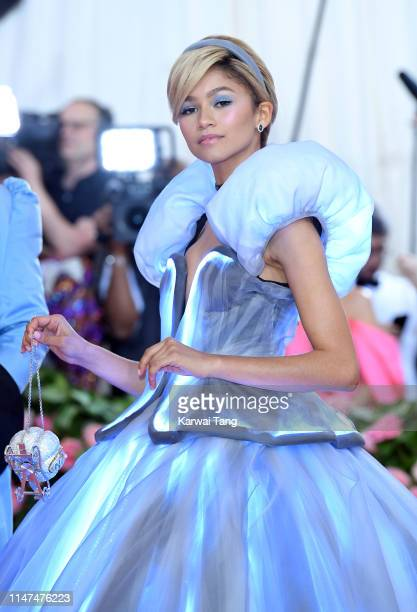 Zendaya arrives for the 2019 Met Gala celebrating Camp Notes on Fashion at The Metropolitan Museum of Art on May 06 2019 in New York City