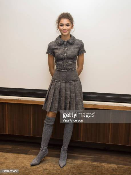 Zendaya at 'The Greatest Showman' Press Conference at the Four Seasons Hotel on November 28 2017 in Beverly Hills California