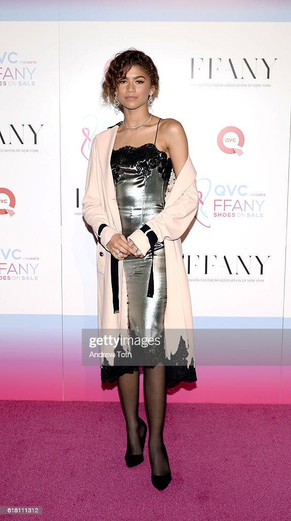 Zendaya attends 'FFANY Shoes On Sale' hosted by QVC on October 25, 2016 in New York City.
