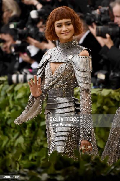 Zendaya attends Heavenly Bodies Fashion The Catholic Imagination Costume Institute Gala at Metropolitan Museum of Art on May 7 2018 in New York City
