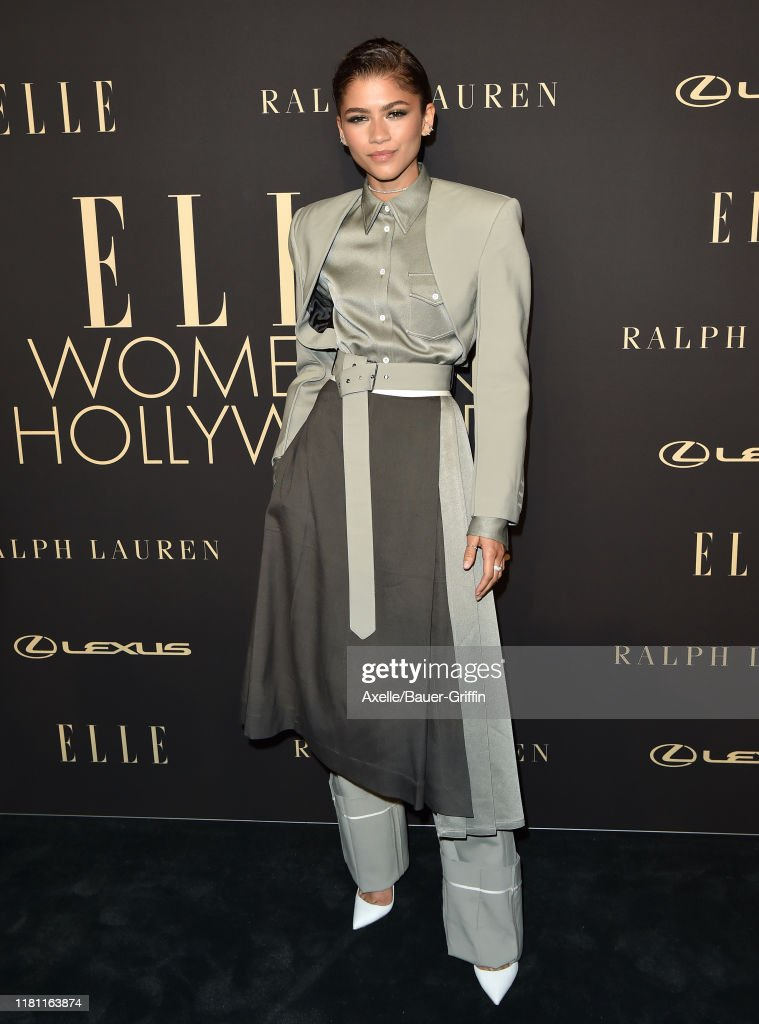 2019 ELLE Women In Hollywood - Arrivals : News Photo