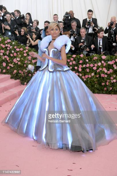 Zendaya attends The 2019 Met Gala Celebrating Camp: Notes on Fashion at Metropolitan Museum of Art on May 06, 2019 in New York City.