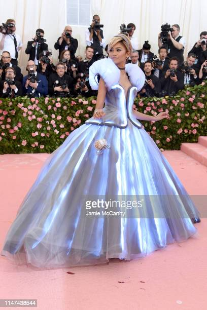 Zendaya attends The 2019 Met Gala Celebrating Camp Notes on Fashion at Metropolitan Museum of Art on May 06 2019 in New York City