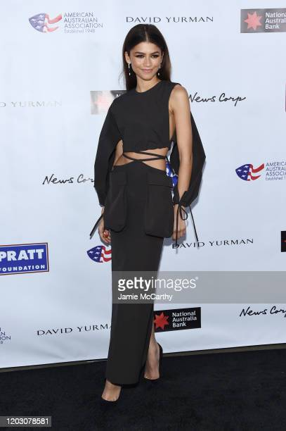 Zendaya attends the 2020 AAA Arts Awards at Skylight Modern on January 30 2020 in New York City
