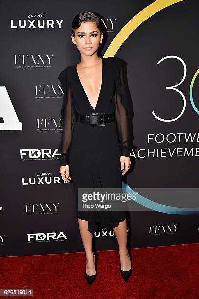 Zendaya attends the 30th FN Achievement Awards at IAC Headquarters on November 29 2016 in New York City