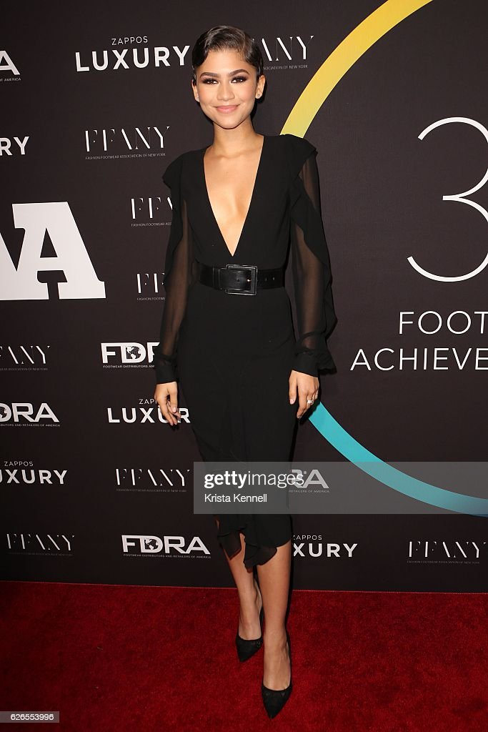 Zendaya attends the 30th FN Achievement Awards at IAC Headquarters on November 29, 2016 in New York City.