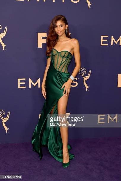 Zendaya attends the 71st Emmy Awards at Microsoft Theater on September 22, 2019 in Los Angeles, California.
