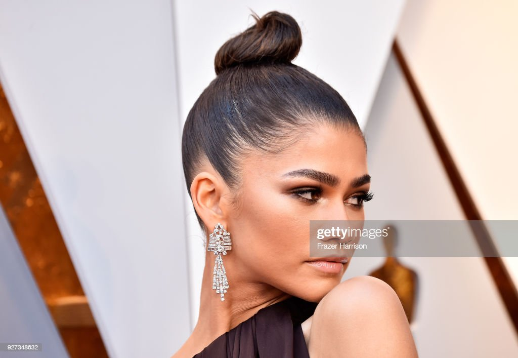 Zendaya attends the 90th Annual Academy Awards at Hollywood & Highland Center on March 4, 2018 in Hollywood, California.