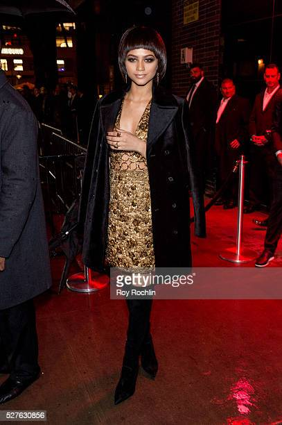 Zendaya attends the after Party at the Standard Hotel following 'Manus x Machina Fashion In An Age Of Technology' Costume Institute Gala on May 2...