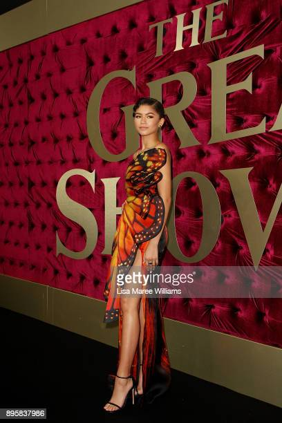 Zendaya attends the Australian premiere of The Greatest Showman at The Star on December 20 2017 in Sydney Australia