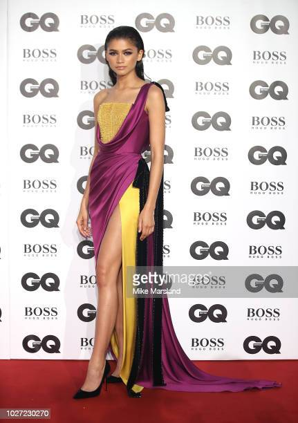 Zendaya attends the GQ Men of the Year awards at Tate Modern on September 5 2018 in London England