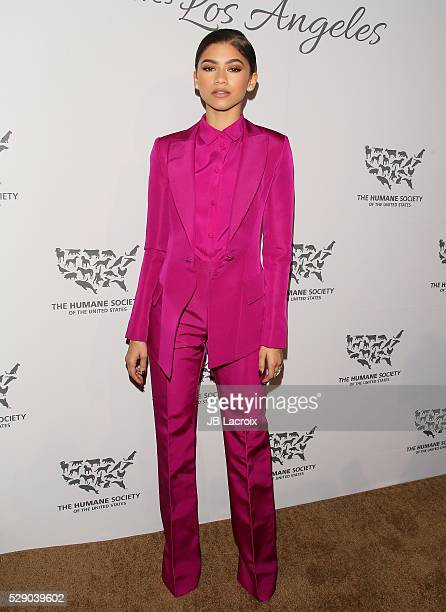 Zendaya attends the Humane Society of The United States' To The Rescue Gala at The Forum on May 1 2016 in Inglewood California