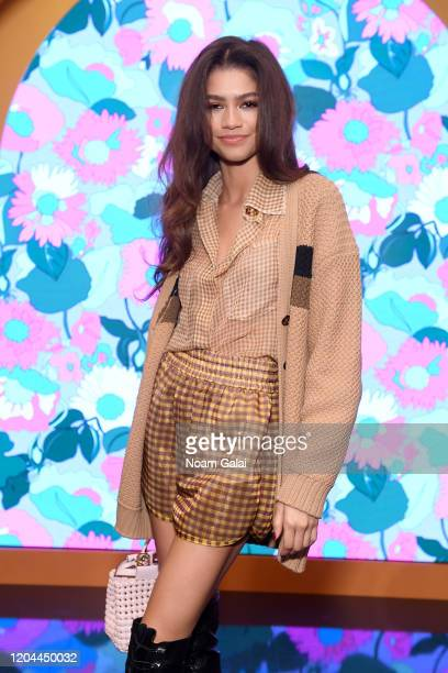 Zendaya attends The Launch of Solar Dream hosted by Fendi on February 05 2020 in New York City