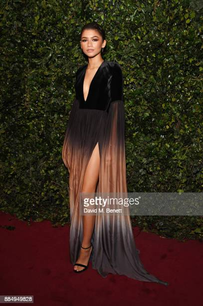 Zendaya attends the London Evening Standard Theatre Awards 2017 at the Theatre Royal Drury Lane on December 3 2017 in London England