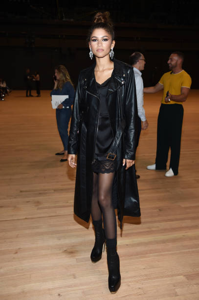 NY: Marc Jacobs Spring 2020 Runway Show - Front Row
