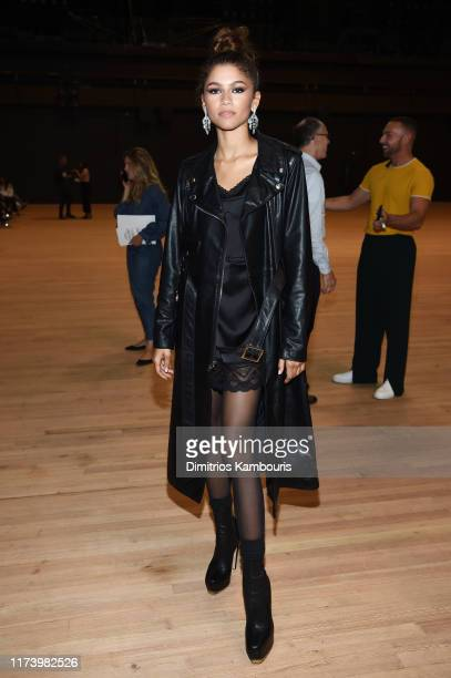 Zendaya attends the Marc Jacobs Spring 2020 Runway Show at Park Avenue Armory on September 11, 2019 in New York City.