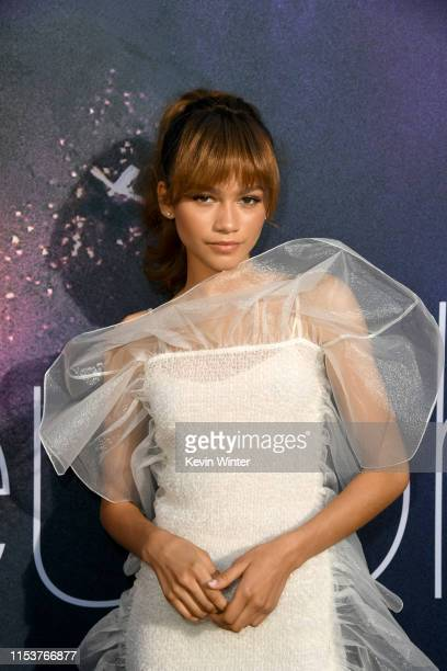 """Zendaya attends the LA Premiere of HBO's """"Euphoria"""" at The Cinerama Dome on June 04, 2019 in Los Angeles, California."""