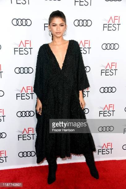 """Zendaya attends the """"Queen & Slim"""" Premiere at AFI FEST 2019 presented by Audi at the TCL Chinese Theatre on November 14, 2019 in Hollywood,..."""