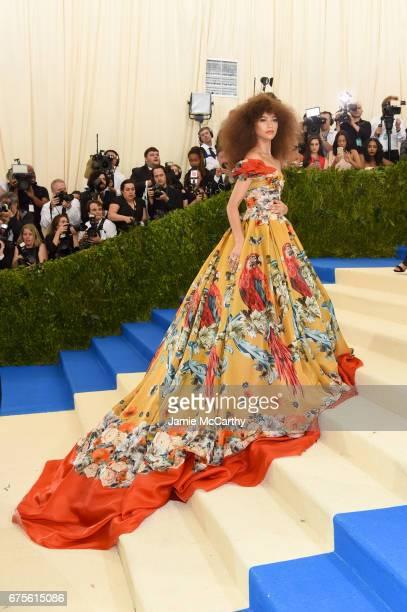 "Zendaya attends the ""Rei Kawakubo/Comme des Garcons: Art Of The In-Between"" Costume Institute Gala at Metropolitan Museum of Art on May 1, 2017 in..."