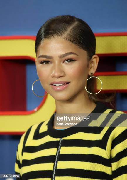 Zendaya attends the SpiderMan Homecoming photocall at The Ham Yard Hotel on June 15 2017 in London England